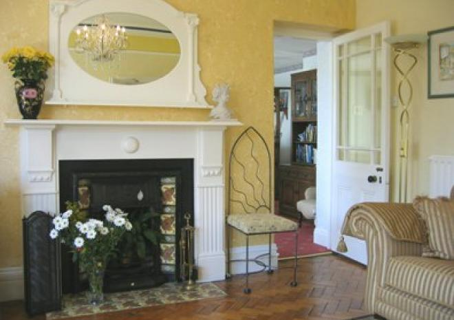 Bed and Breakfast in Cornwall , Elmswood House , Par , Fowey . St Austell , Cornwall