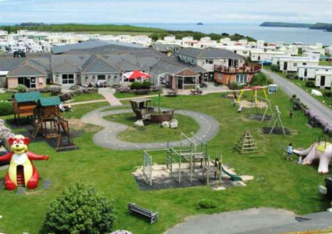 Harlyn Sands Holiday Park, Caravan and Camping near Padstow, Cornwall