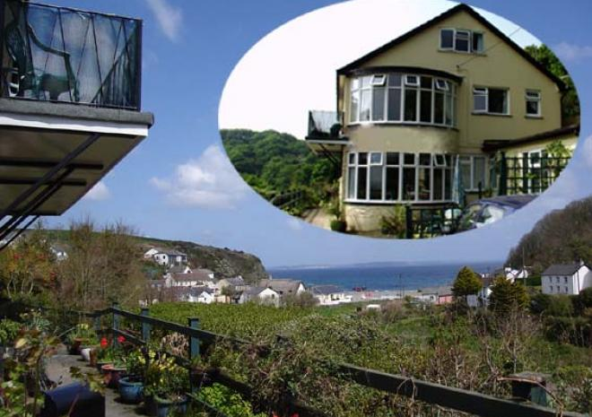 Gallen-Treath Guest House, Bed and Breakfast, Porthallow, Lizard Peninsula, West Cornwall
