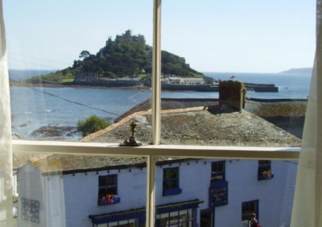 Marazion Hotel Room View