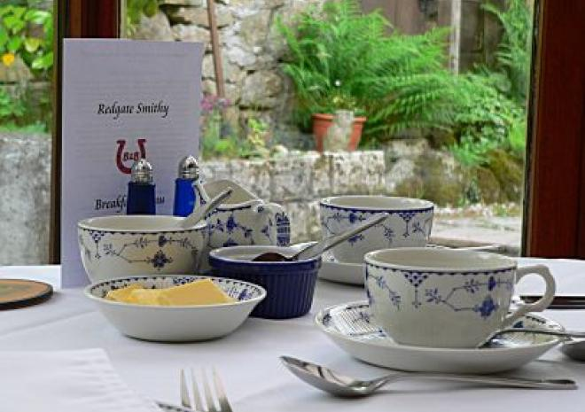 Enjoy your breakfast in our relaxing Conservatory, overlooking the garden