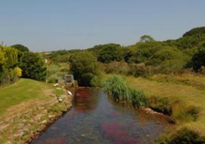 Holiday Park in Cornwall , River Valley Country Park , Near Penzance