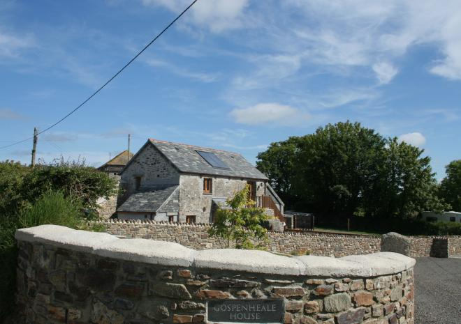 Self Catering in Cornwall | Gospenheale Barn | Launceston