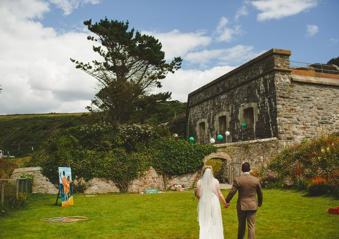 Exclusive Wedding Venue Cornwall | Polhawn Fort