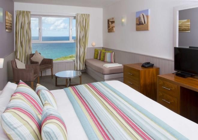 Sands Resort Hotel, Newquay - Sea view room