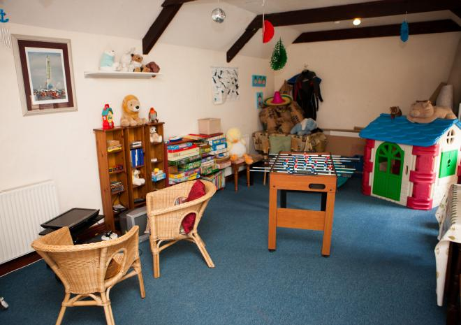 The Playroom at Tregathenan, West Cornwall