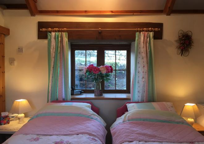 The Stable can be great for one night stays with two twin beds and own en-suit