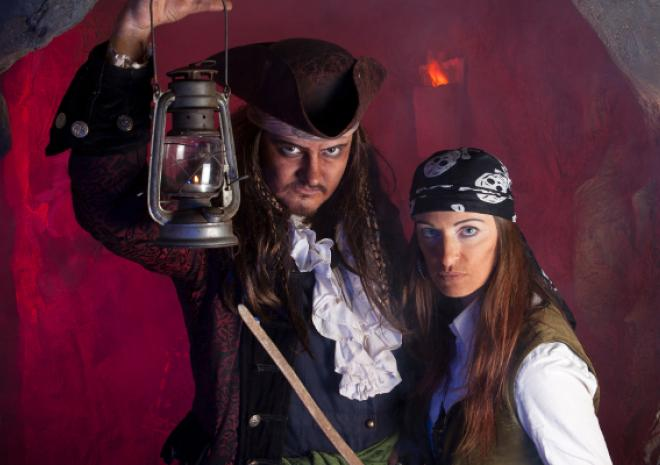 Pirate's Quest, Newquay, Visit Cornwall, February Half Term, Event, What's On