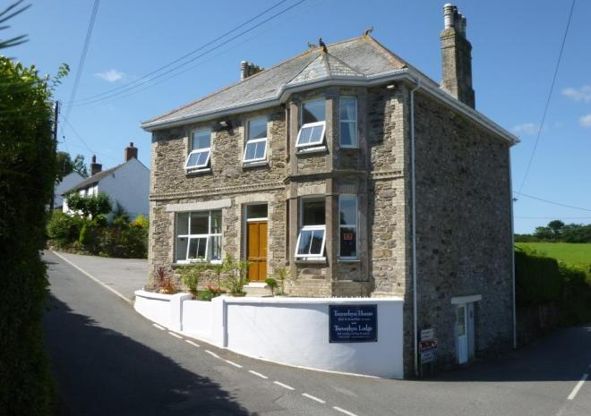 Treverbyn House, Bed & Breakfast, Veryan, South Cornwall
