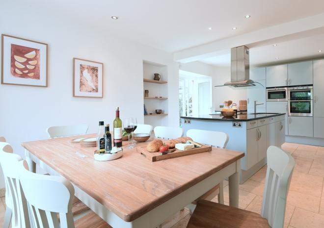 Chy an Carrack, luxury 4 bed house, Kitchen/Diner St Ives