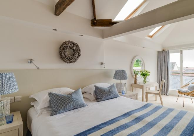 St Mawes Hotel, Boutique Hotel, Bathroom,  St Mawes, The Roseland, South Cornwall