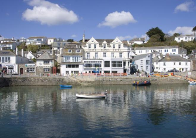 Ship & Castle, St Mawes, Cornwall