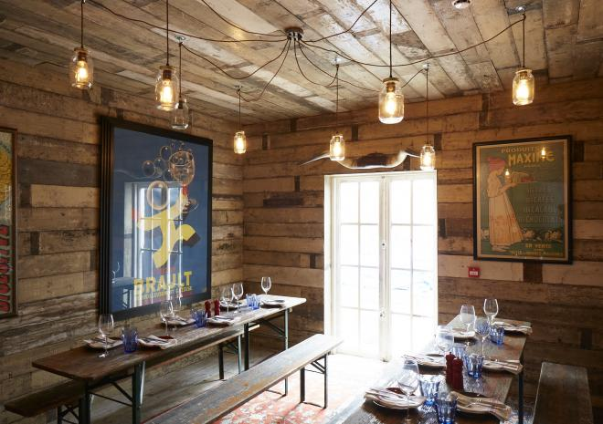 The Cornish Barn, Artist Residence, Penzance, Cornwall, eating out