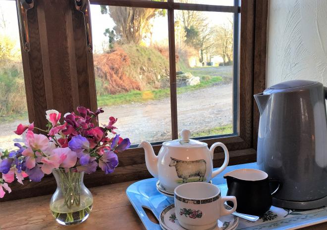The Stable offers tea and coffee making facilities