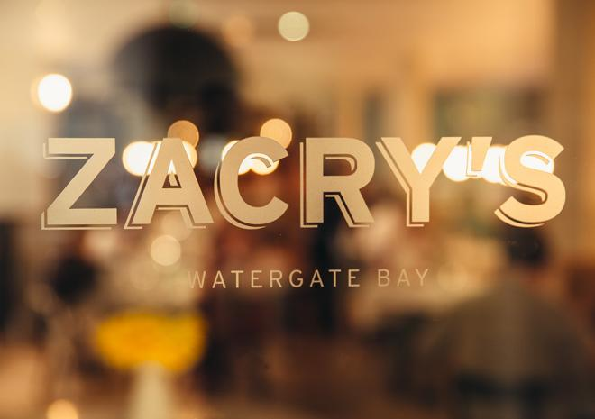 Zacrys Restaurant, Watergate Bay, Newquay, Cornwall