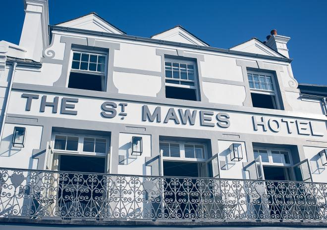 St Mawes Hotel, Boutique Hotel, Restaurant, Bar St Mawes, The Roseland, South Cornwall