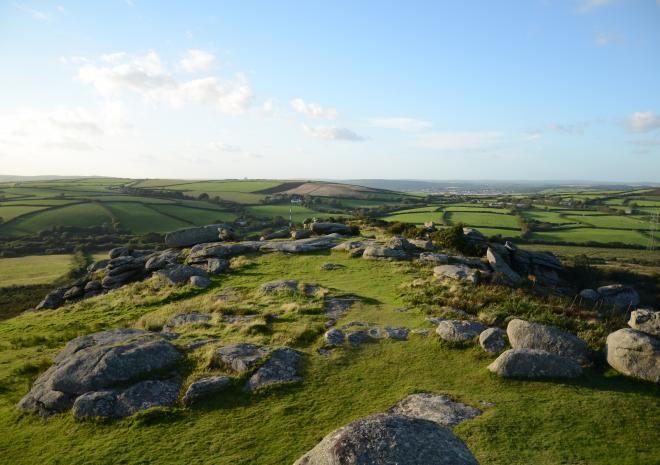 Cottages in Cornwall | Lanwithan Cottages | Helman Tor |  Lostwithiel
