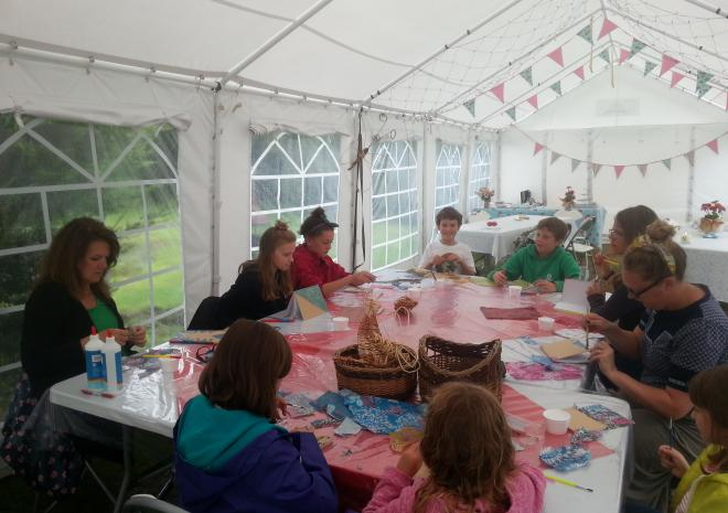craft workshops  at coastal valley Camp and crafts