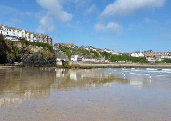 Towan Beach | Newquay | Beaches in Cornwall c Visit Cornwall