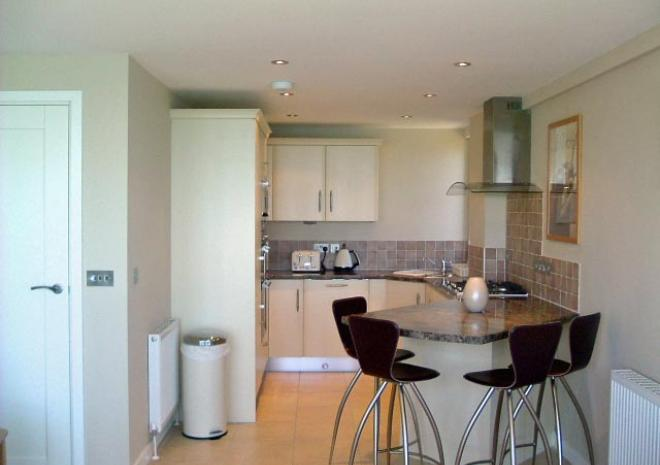 270 North kitchen, fully integrated including dishwasher