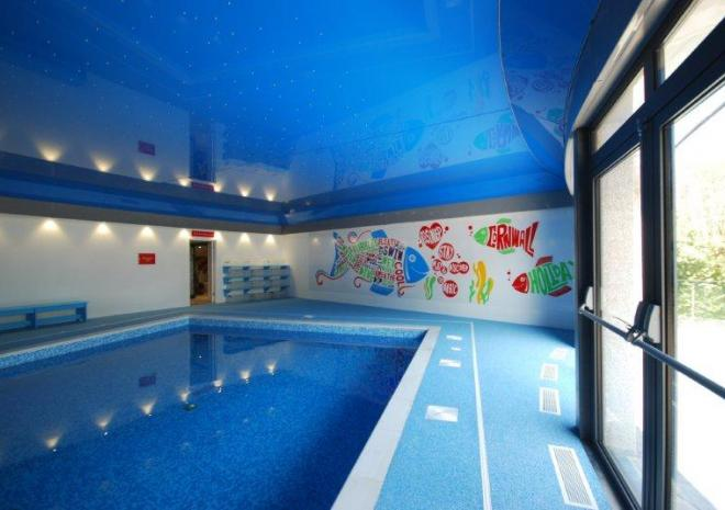 Bosinver Farm Holiday Cottages heated indoor pool St Austell Cornwall