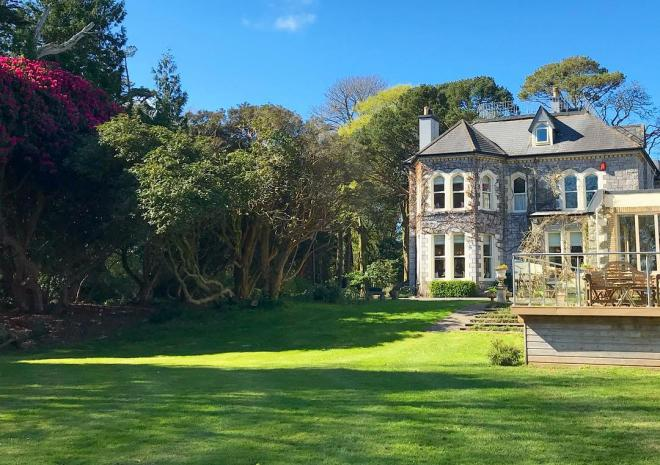 Penmorvah Manor Hotel, Falmouth, Cornwall - Grounds