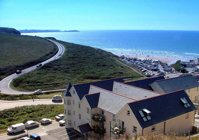 Self Catering in Cornwall , Beachcombers Apartments, Cornwall