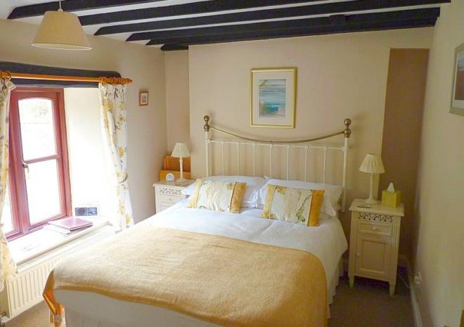 """Our """"Garden Double"""" room, with a Private Bathroom, overlooking the garden"""