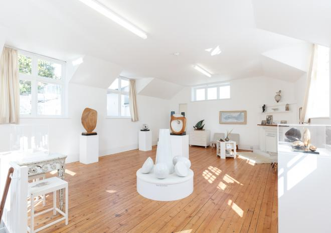 Barbara Hepworth's former studio and living space