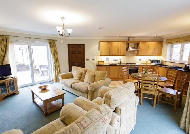 Apartment interior, Self Catering in Cornwall, Porth Veor Villas and Apartments, Newquay, Cornwall