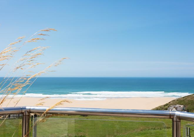 Bedruthan View from Spa