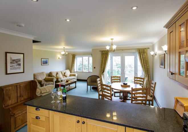 Living area, Self Catering in Cornwall, Porth Veor Villas and Apartments, Newquay, Cornwall