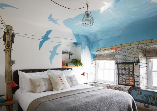 Artist Residence, Penzance, Cornwall, Hotel