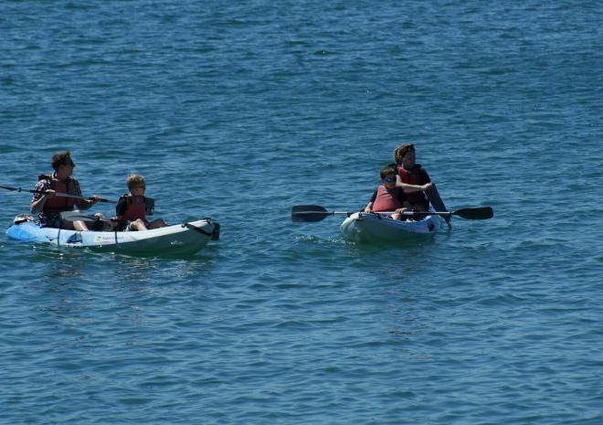 Polkerris, Beach, Activities Cornwall, Paddle-boarding, Paddle, Boarding, water sports