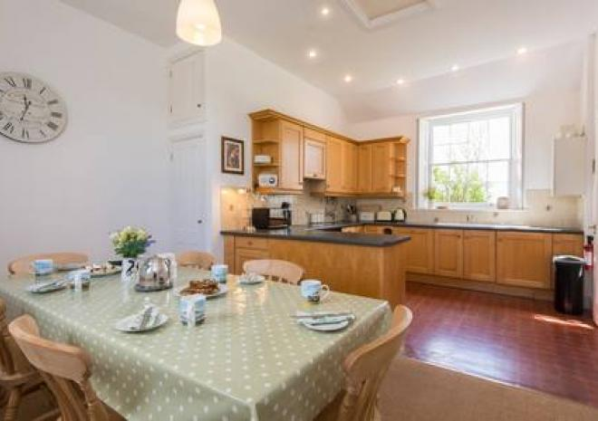 Large spacious kitchen diner at Pippin Cottage - well equipped with everything you need during your stay.