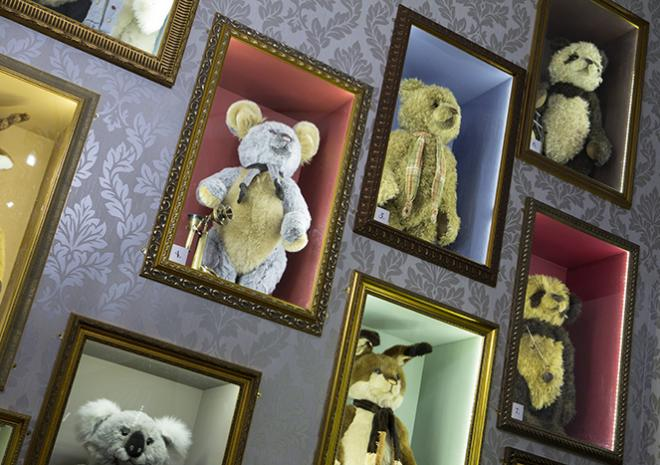 Charlie Bears, Gallery, Teddy Shop Cornwall, Cornwall Attractions