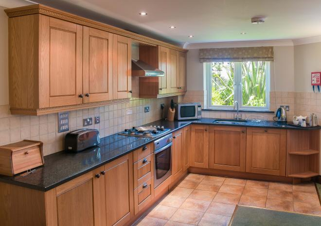 Kitchen, Self Catering in Cornwall, Porth Veor Villas and Apartments, Newquay, Cornwall