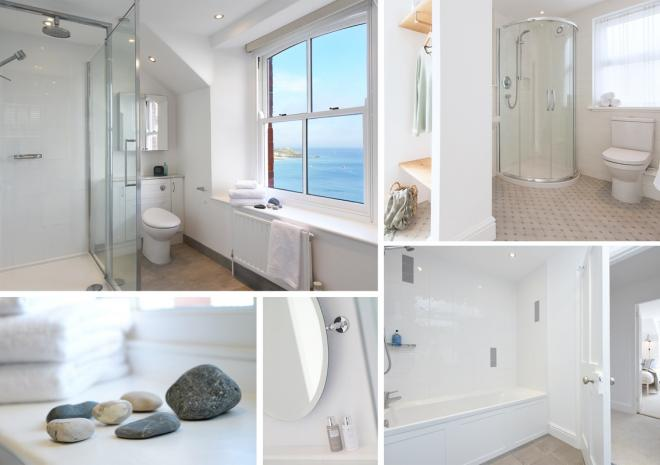 Chy an Carrack, luxury 4 bed house, bathrooms, St Ives