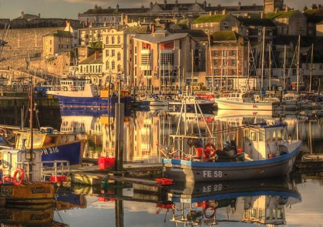 The Barbican,Plymouth