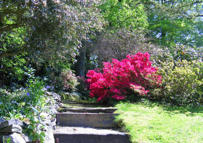 Cottages in Cornwall | Lanwithan Cottages | Lanwithan Private Gardens |  Lostwithiel