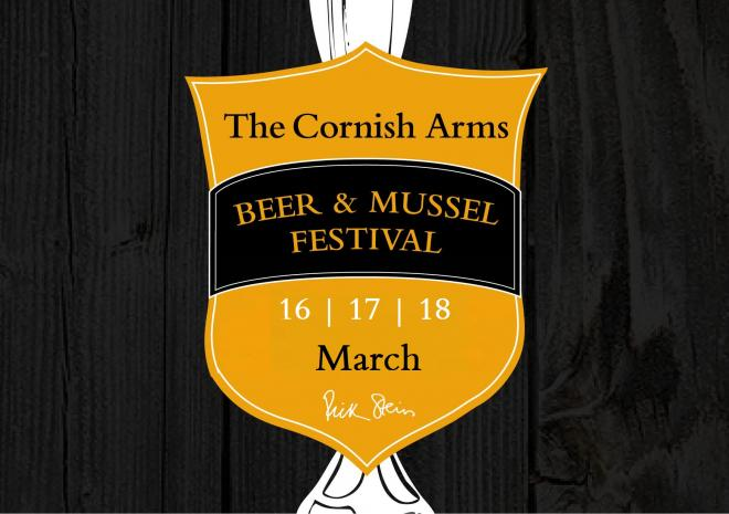 The Cornish Arms Beer and Mussel Festival, What's On, Visit cornwall 2018