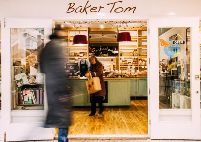 Baker Tom's Bread, Visit Cornwall, shop, attraction