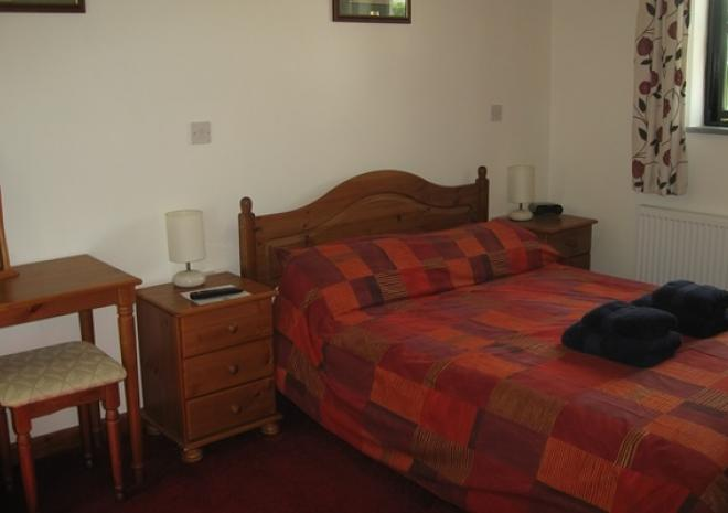 Hallagenna Cottages, Self catering cottages, Bodmin Moor, Cornwall, Barn main bedroom
