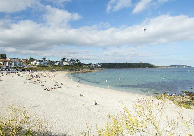 Gyllngvase Beach, Falmouth, North Cornwall