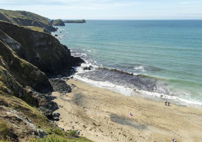 Polurrian Cove, Mullion, The Lizard, West Cornwall