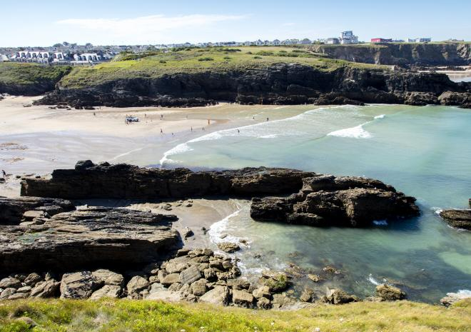 Porth Beach, Newquay, North Cornwall