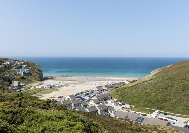 Porthtowan Beach, North Cornwall