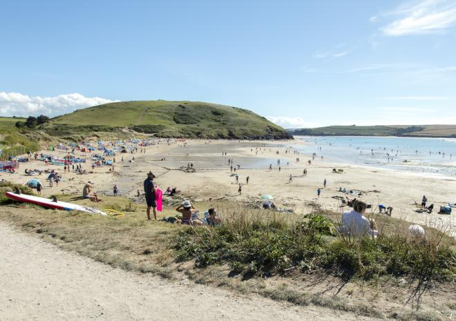 Daymer Bay Beach, Padstow, North Cornwall