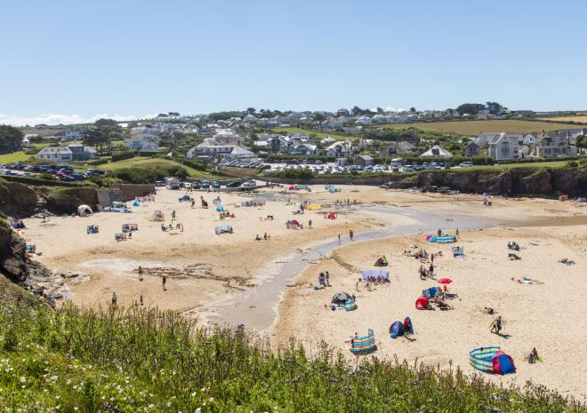 Trevone Bay Beach, Padstow, North Cornwall