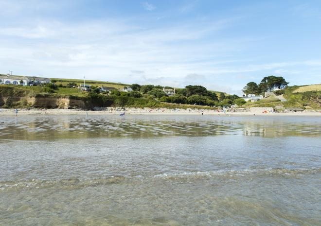Carne Beach, Roseland Peninsula, South Cornwall